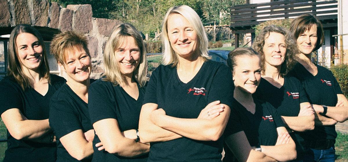 Kursleiterinnen Kankengymnastik Hundertmark